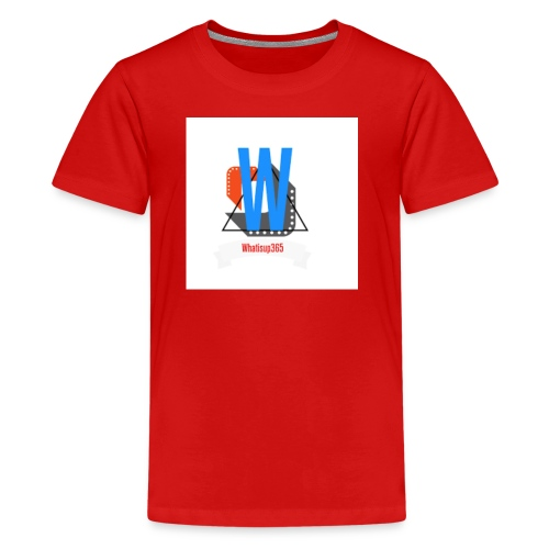 Whatisup365's logo 2016-2017 - Kids' Premium T-Shirt