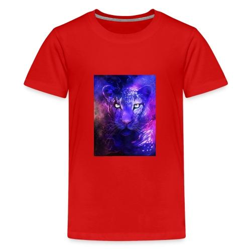 glowing leopard - Kids' Premium T-Shirt