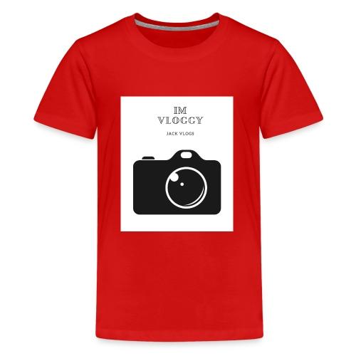 jackvlogs im vloggy - Kids' Premium T-Shirt