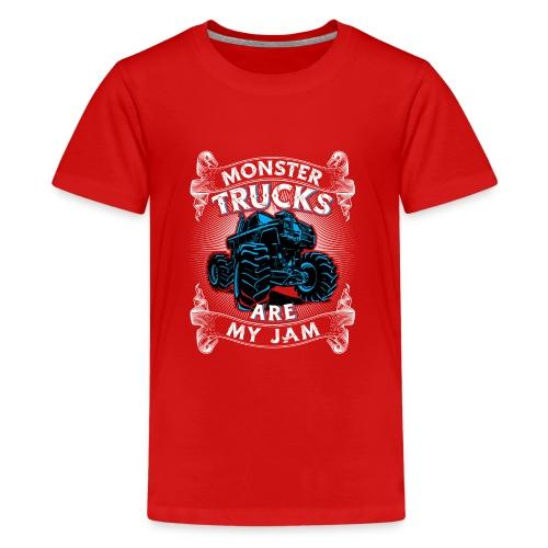Monster trucks are my jam - Kids' Premium T-Shirt