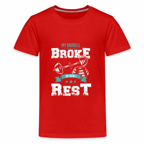 Workout Resting Time - Kids' Premium T-Shirt