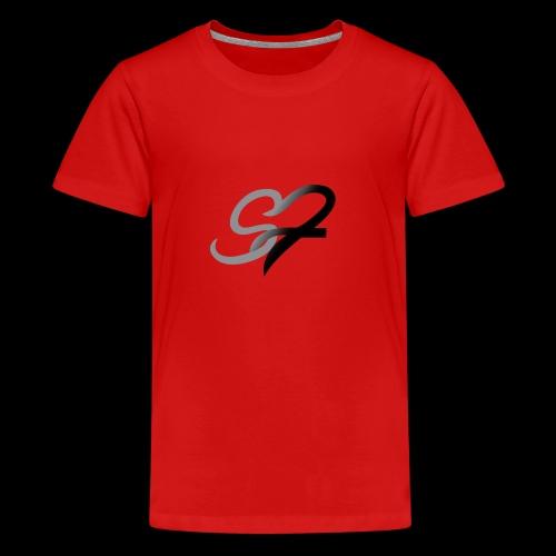 Stoked Fitness logo - Kids' Premium T-Shirt