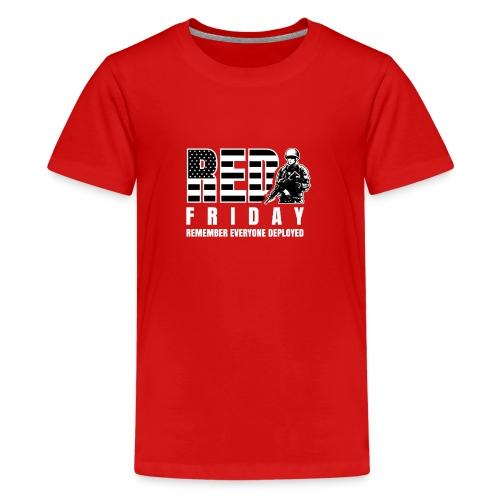 Red Friday Military - Kids' Premium T-Shirt