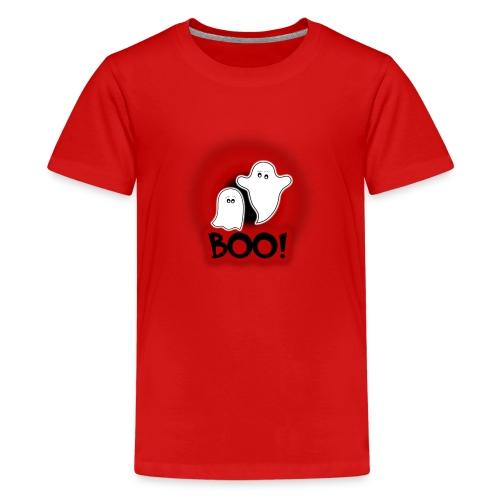 Ghosties Boo Happy Halloween 1 - Kids' Premium T-Shirt