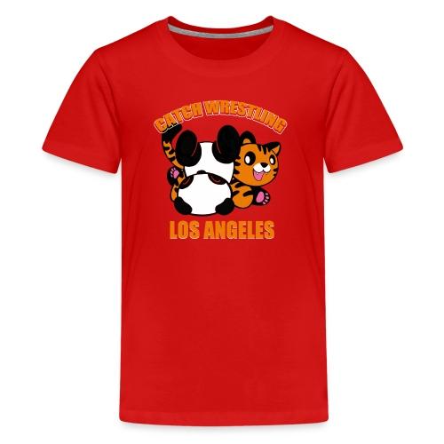 Catch Wrestling Los Angel - Kids' Premium T-Shirt