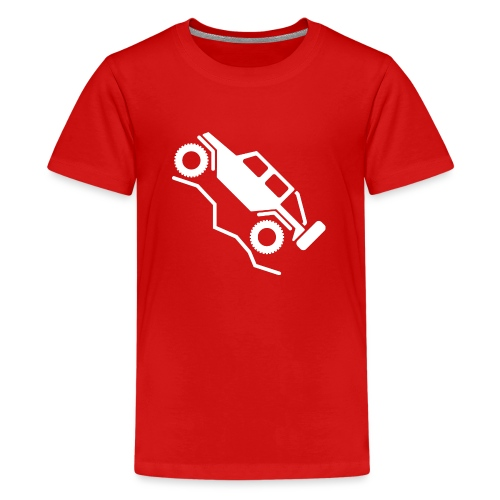 Offroad 4wd Rock Crawling Logo - Kids' Premium T-Shirt