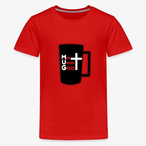 MUG Men Under God - Kids' Premium T-Shirt