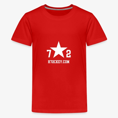 72Hockey com logo - Kids' Premium T-Shirt