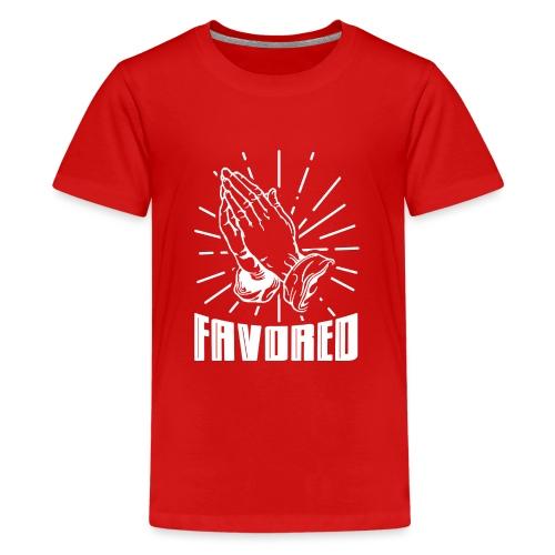 Favored - Alt. Design (White Letters) - Kids' Premium T-Shirt