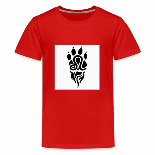 Black Leo Zodiac Sign - Kids' Premium T-Shirt