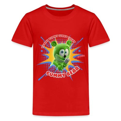 Funny Lucky Gummy Bear - Kids' Premium T-Shirt