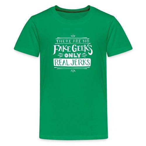 real jerks doodads copy copy white png - Kids' Premium T-Shirt