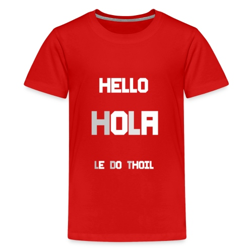 hola - Kids' Premium T-Shirt