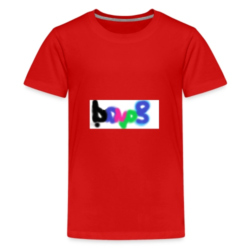 brush the haters off - Kids' Premium T-Shirt