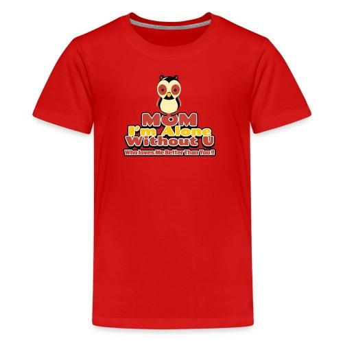 MOM Love 01 - Kids' Premium T-Shirt