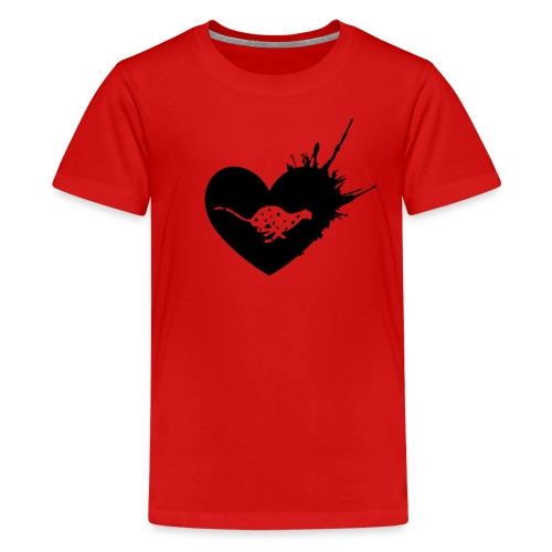 Cheetah Love - Kids' Premium T-Shirt