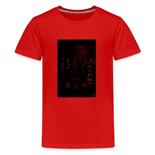 Death is here mercy hacked by: Lildeadpool2X - Kids' Premium T-Shirt