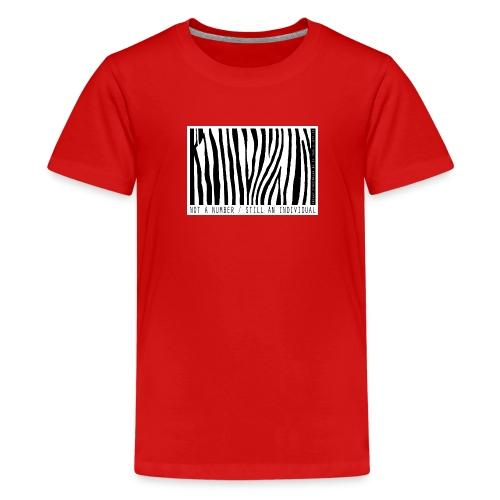 Not a number - still an individual - Kids' Premium T-Shirt