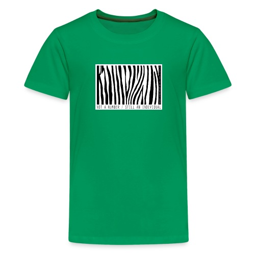 Not a number - still an individual - Kids' Premium T-Shirt