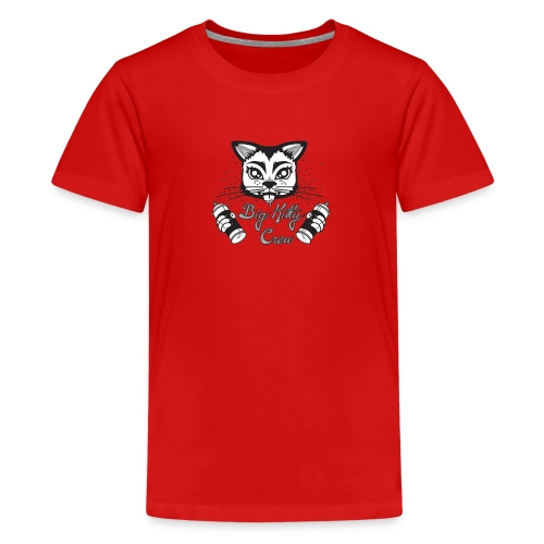 Big Kitty Spray Paint - Kids' Premium T-Shirt