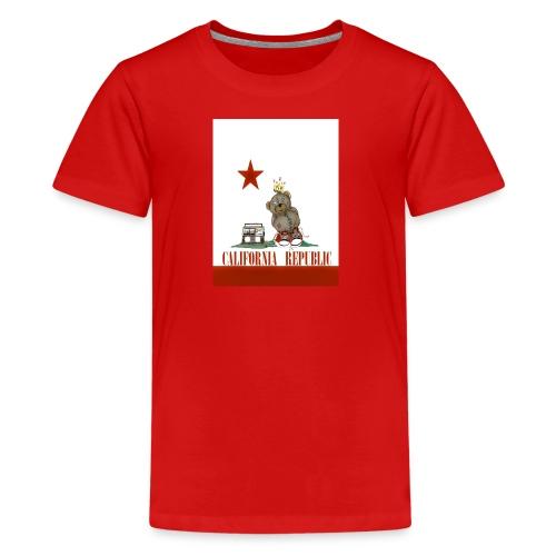Lucky Number7 California Teddy NO Gunja Leaf - Kids' Premium T-Shirt
