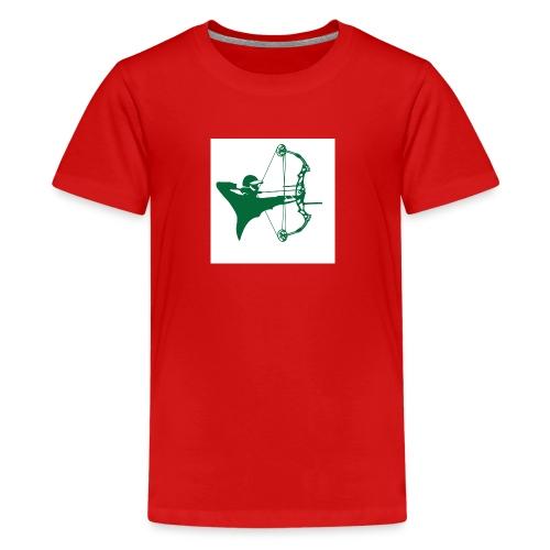 man with bow - Kids' Premium T-Shirt