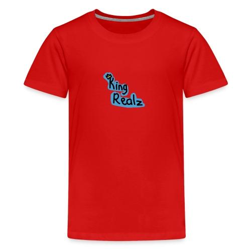 KingRealzMerch[TEXT] - Kids' Premium T-Shirt