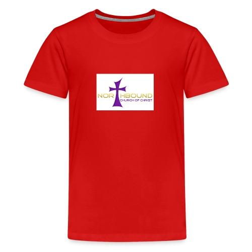 NB long logo - Kids' Premium T-Shirt