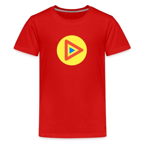 Most Played Play Logo - Kids' Premium T-Shirt