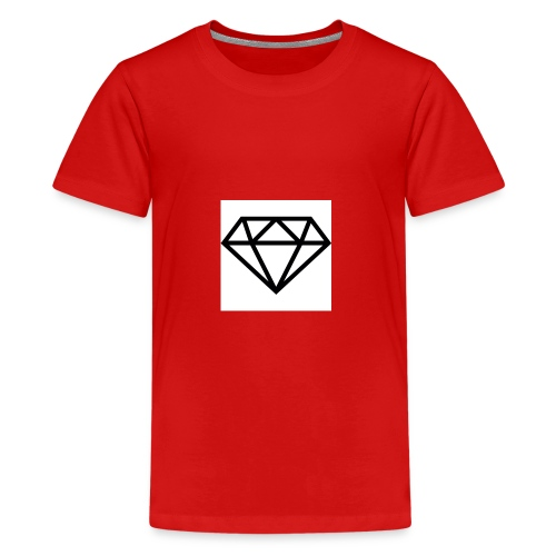 diamond outline 318 36534 - Kids' Premium T-Shirt