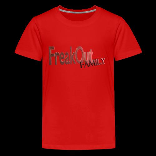 FreakOut Family Logo Print - Kids' Premium T-Shirt