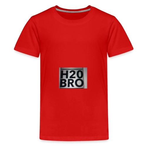 Red tee - Kids' Premium T-Shirt