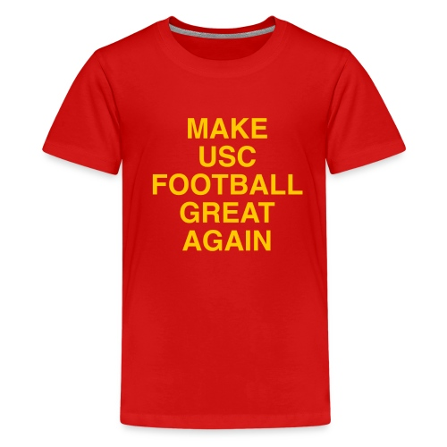 Make USC Football Great Again - Kids' Premium T-Shirt