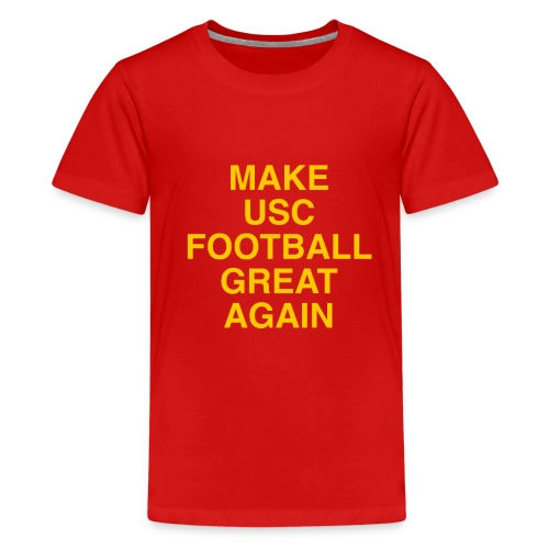 Make USC Football Great Again - Kids' Premium T-Shirt