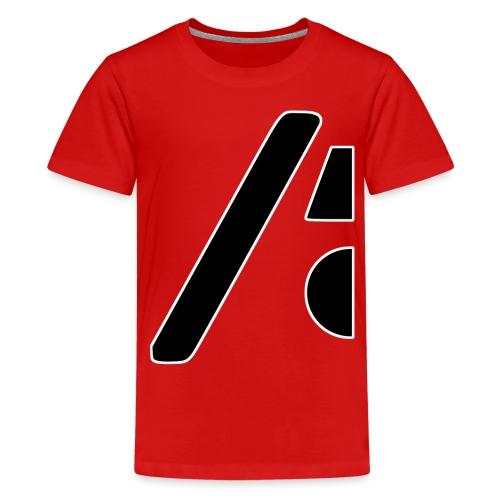 Half the logo, full on style - Kids' Premium T-Shirt