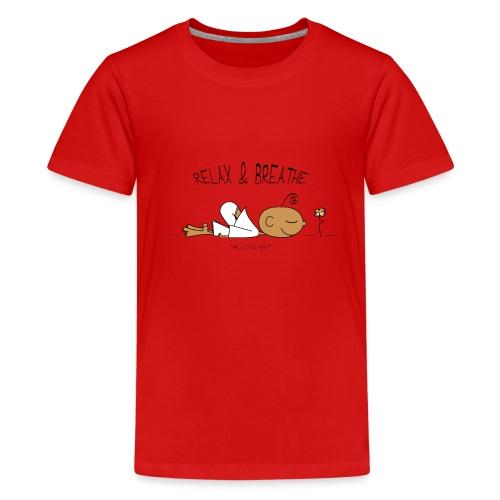 Relax & Breathe - Kids' Premium T-Shirt
