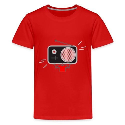 Red MusiqHead Merch - Kids' Premium T-Shirt