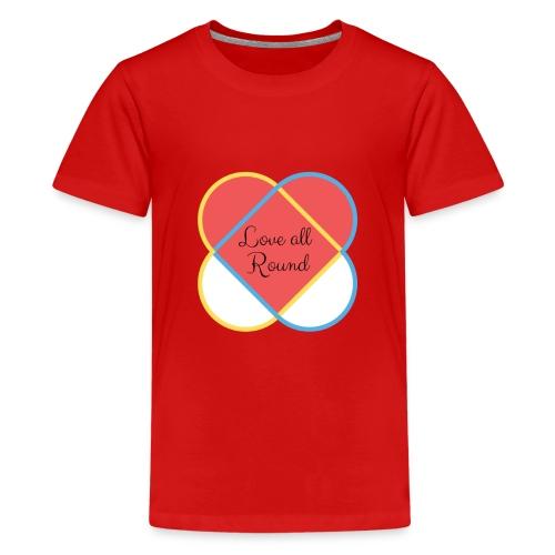 Love all round - Kids' Premium T-Shirt