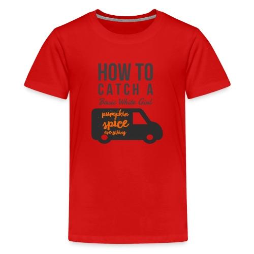 Basic White Girl - Kids' Premium T-Shirt