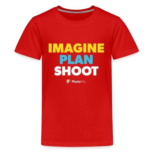 Imagine. Plan. Shoot! - Kids' Premium T-Shirt