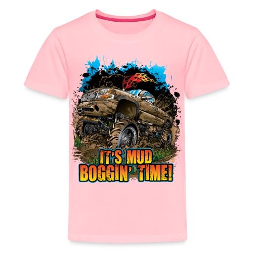 Mud Bogging Time - Kids' Premium T-Shirt