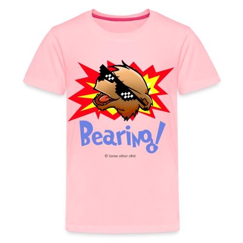 Bearing Thug Life Shades - Kids' Premium T-Shirt