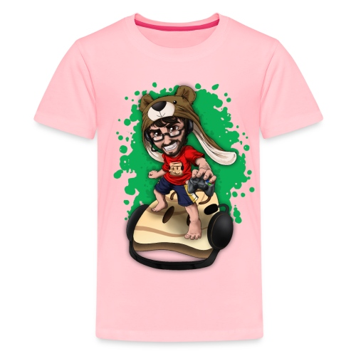 CTKTshirtEntrygreenscreen png - Kids' Premium T-Shirt