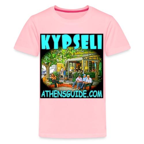 Kypseli Old People Black jpg - Kids' Premium T-Shirt