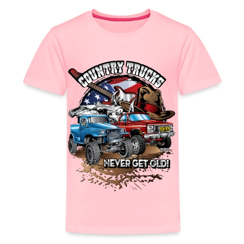 Country Off-Road Trucks - Kids' Premium T-Shirt