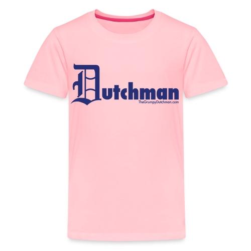10 final dutchman d blue - Kids' Premium T-Shirt