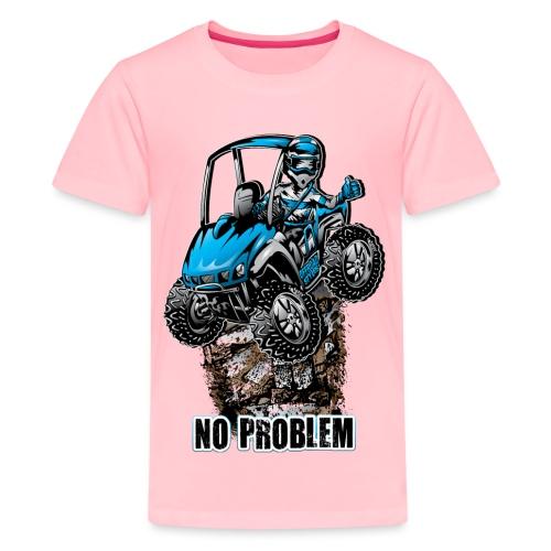 UTV SxS No Problem Blue - Kids' Premium T-Shirt