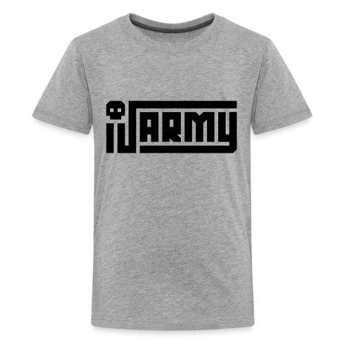 iJustine - iJ Army Logo - Kids' Premium T-Shirt