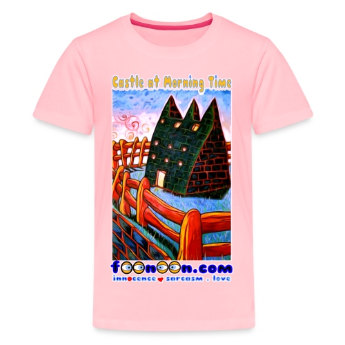 Castle at Morning Time - Kids' Premium T-Shirt