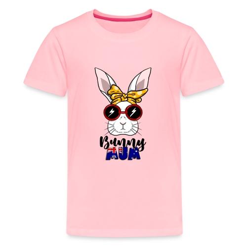 Aussie Bun Mum - Kids' Premium T-Shirt